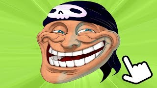 КЛИКНИ НА ТРОЛЛФЕЙС! ► Troll Face Clicker Quest
