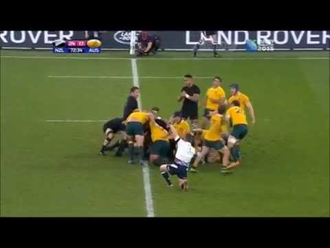 RWC Final 2015 Highlights - NZ All Blacks vs. Australia Wall