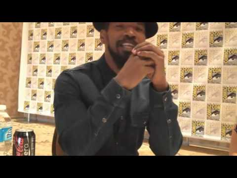 "Jamie Foxx Talks ""Django Unchained"""