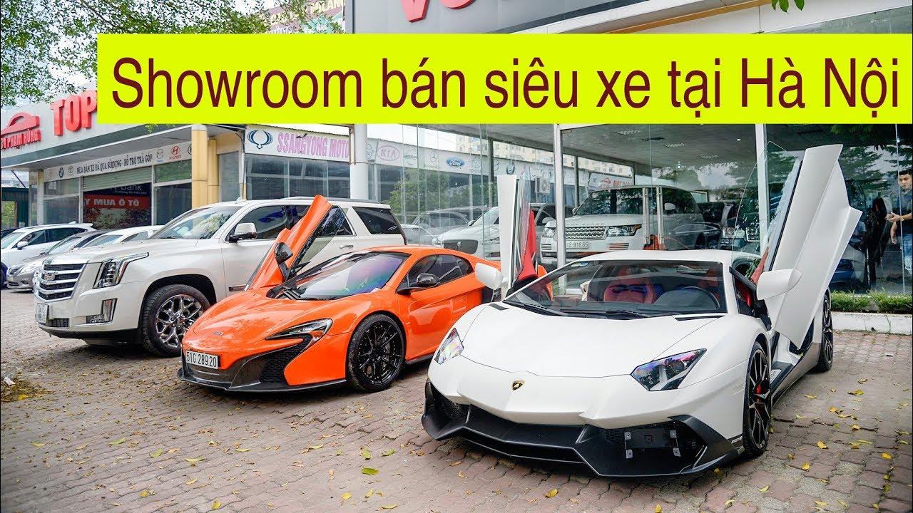 Showroom bán toàn siêu xe, xe siêu sang tại Hà Nội, Lamborghini bản độc quá chất
