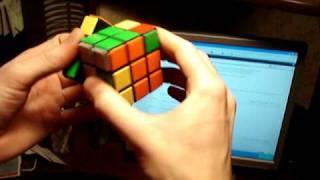 PLL - Алгоритм Терминатор x' (U' R U L' U' ) (R' U) (r2 U R' U' r' F R F' )