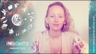Psychic Astrology for January 2018 - All Zodiac Signs