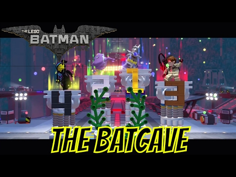 LEGO Dimensions The Batcave Battle Arena Gameplay As Excalibur Batman (The LEGO Batman Movie)