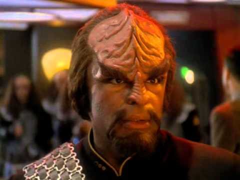 Star Trek - DS9  Worf Kicks Arse