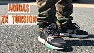 HONEST REVIEW OF THE ADIDAS ZX TORSION!!! ADIDAS BEST NEW SNEAKER!!