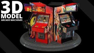 Neo Geo Arcade Machines 3D Model | Tlatso-Son
