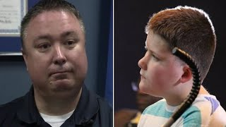 Cop Called To House For Child Abuse Report, Kicks In Door Left Trembling At The Sight Front Of Him