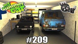 My Summer Car - DIA DE FAXINA, COLOQUEI OS 2 CARROS NA GARAGEM! #209