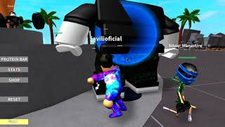 I've become the strongest little man of all! Weight Lifting Simulator 2-ROBLOX