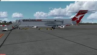 tfdi 717 200 qantas yssy ybbn