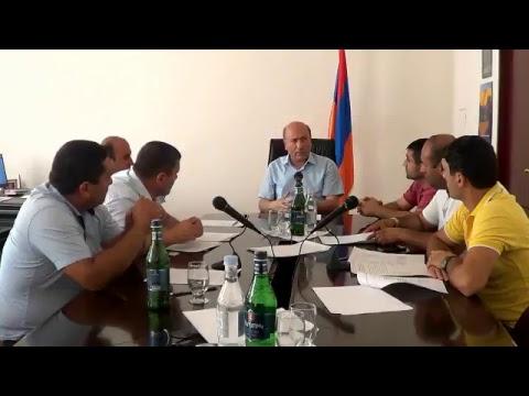 Բյուրեղավան համայնքի ավագանու հերթ.նիստ 04.07.2018