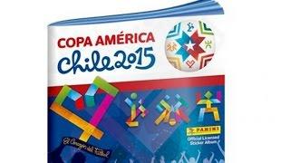 Álbum Completo de Figuritas Panini - Copa América Chile 2015