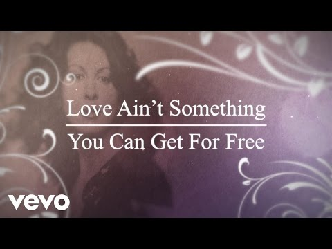 Video - Elkie Brooks - Love Ain't Something You Can Get For Free (Lyric Video)