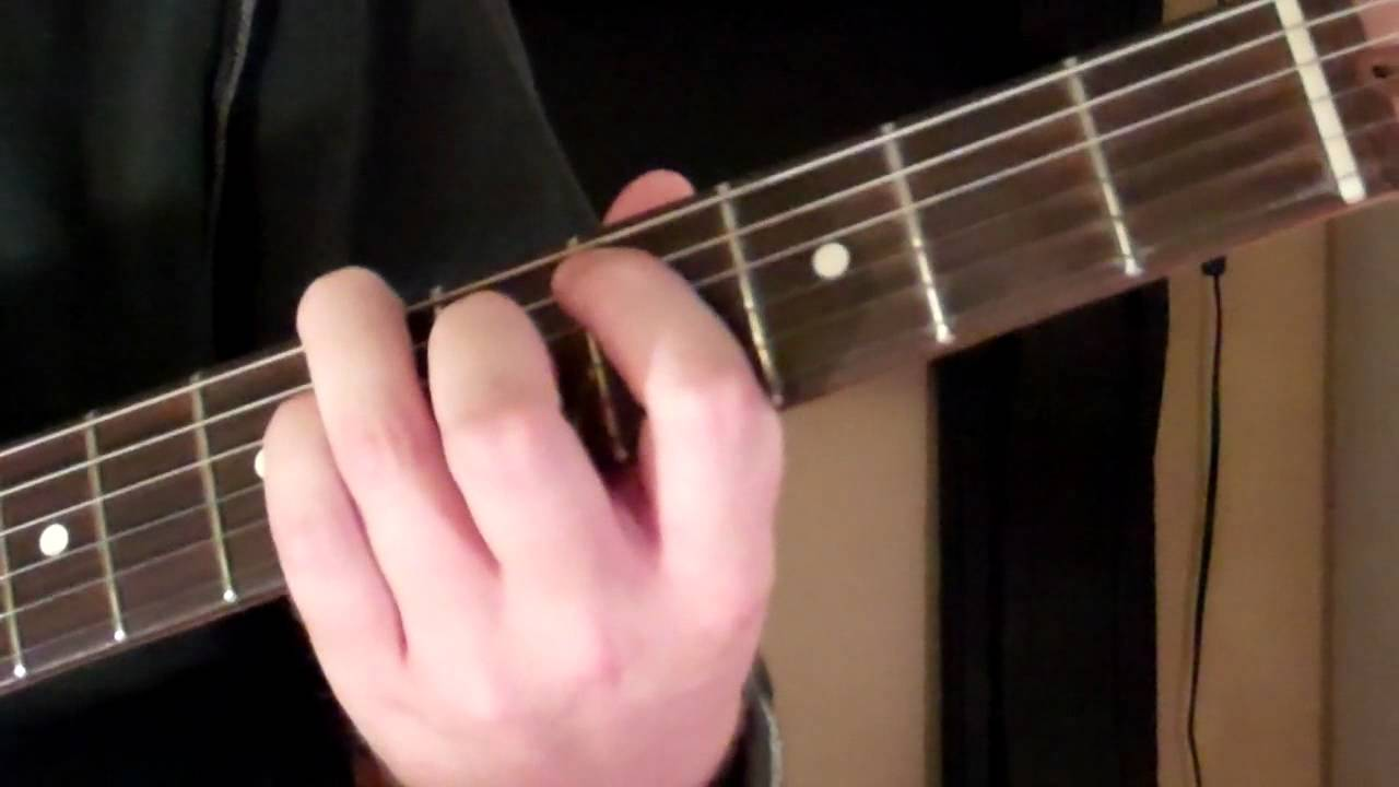 How To Play The Bbm9 Chord On Guitar B Flat Minor Ninth 9th Youtube