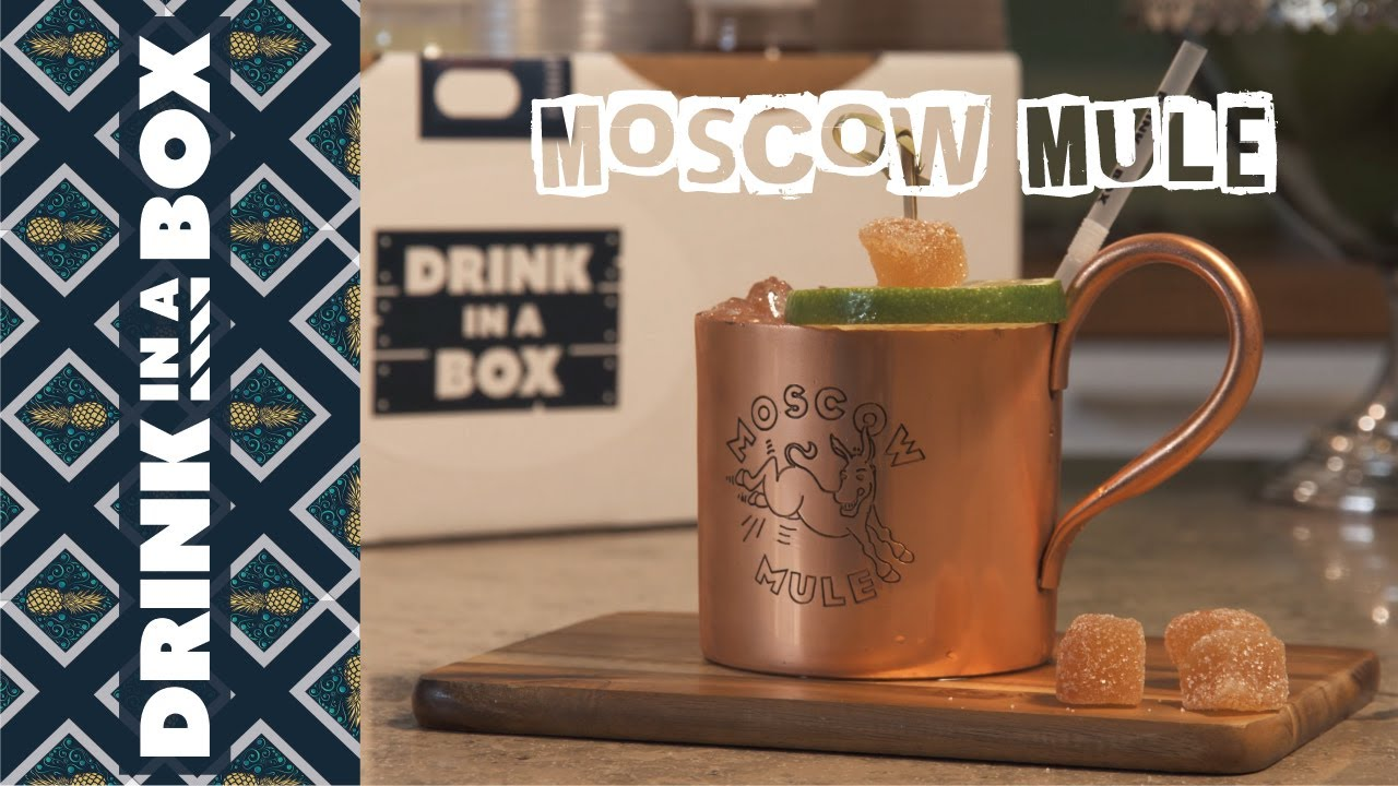 How To Make A Moscow Mule - Drink In A Box