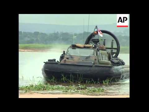 CONGO: BRITISH MARINES PREPARE TO EVACUATE NATIONALS FROM ZAIRE