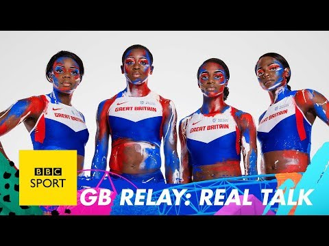 Great Britain's 4x100m relay team talk Love Island, skydiving and pizza toppings - BBC Sport