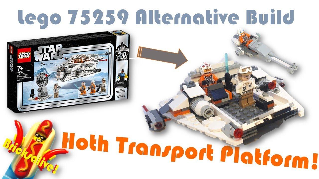 75259 Lego Star Wars 20th Anniversary Hoth Snowspeeder Building Set
