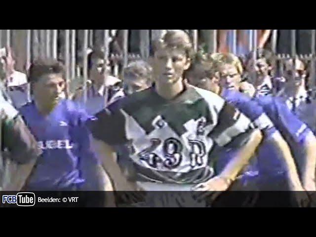 1991-1992 - Jupiler Pro League - 34. Cercle Brugge - Club Brugge 5-5