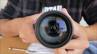 ヤフオクで買った CANONの望遠レンズをバラシてカビを拭いてみた thumbnail