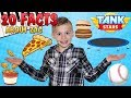 20 Facts About Me || Zac Family Fun Pack
