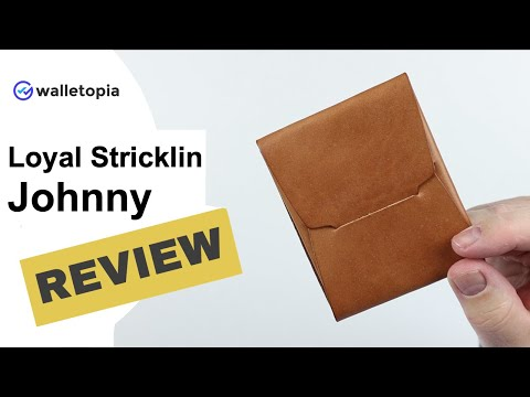 Loyal Stricklin Johnny wallet, where elegance meets function