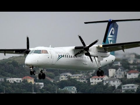 Air New Zealand Economy Class - Auckland to Rotorua (NZ 8159) - Bombardier Dash 8 Q300