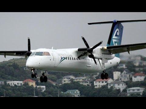 Air New Zealand Economy Class - Auckland to Rotorua (NZ 8159) - Bombardier Dash 8 Q300