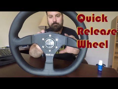 Quick Release Steering Wheel
