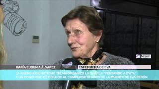 Télam organizó una charla sobre la vida y obra de Eva Duarte de Perón