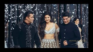 MANISH MALHOTRA BEST SHOW EVER WITH SALMAN KHAN & KARTINA KAIF AS SHOW STOPPERS FOR FIRST TIME EVER