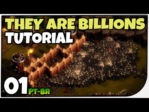 Tutorial Zerando o Jogo! - They Are Billions! RTS de Zombie