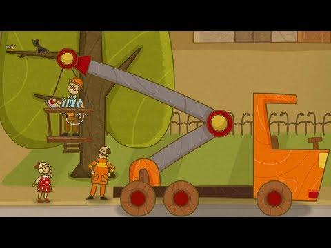 'Машинки', новый мультсериал для мальчиков - Автокран (серия 35) и сборник серий!