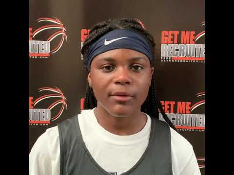 Milaysia Fulwiley (SC 76ers Black/Keenan HS/Columbia, SC) 2023 5'6 PG