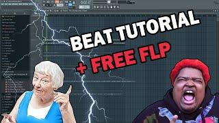 How to make Bih Yah by Mario Judah | FL studio Tutorial + Free FLP