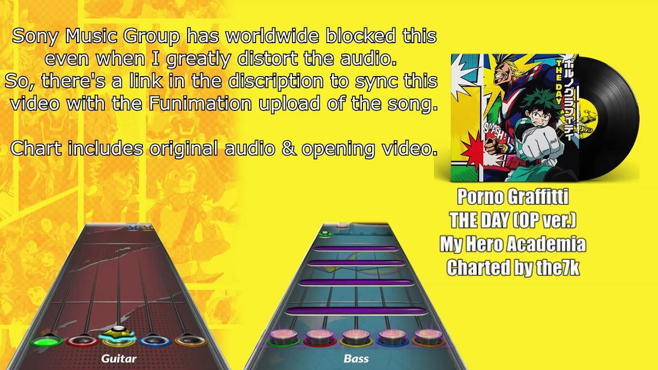 Clone Hero Menu Background