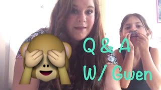 Q&A With Gwen🙈 // Grace Gebhart Thumbnail