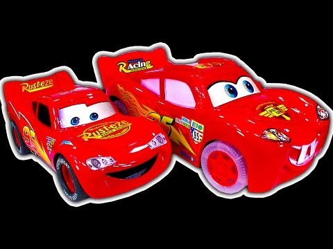 Disney Cars Dark Side Knock Off Toys Ep4 Smashing Lightning McQueen