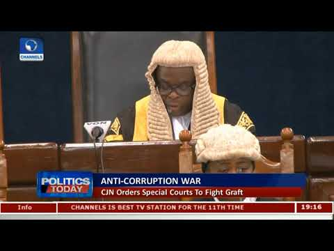CJN Orders Special Courts To Fight Corruption