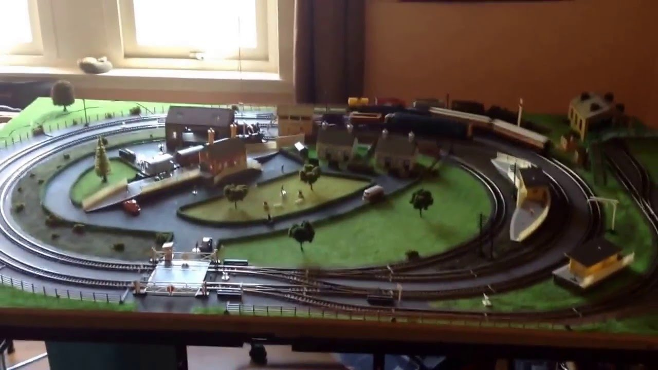 Hornby Trakmat Model Railway 00gauge 8 Youtube