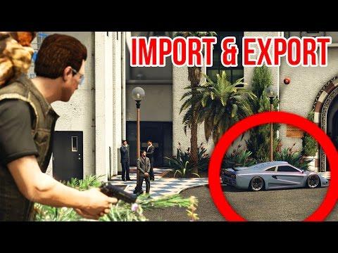 GTA 5 Online: WIR SPIELEN ALLE MISSIONEN ! - IMPORT/EXPORT DLC
