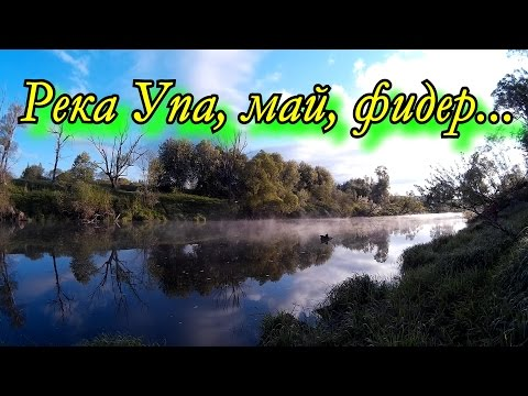 Река Упа, май, фидер...