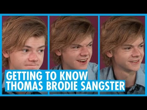 Getting to Know Actor Thomas BrodieSangster