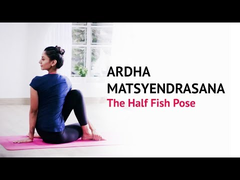 Ardha Matsyendrasana | The Half Fish Pose | Steps | Benefits | Yogic Fitness
