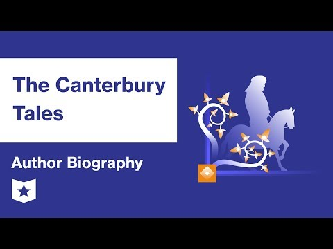 The Canterbury Tales by Geoffrey Chaucer | Author Biography