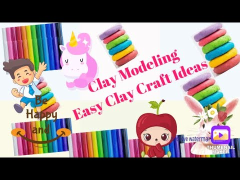 CLAY MODELLING:HOW TO MAKE CLAY BRINJAL