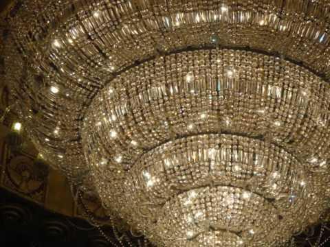 Large Decorating Branch Of Light Jhar Bati Bagbazar Durga Puja Pandle