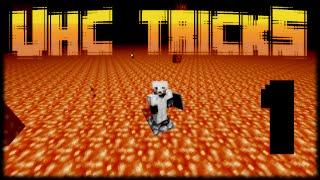 UHC TRICKS 1: Up Through Nether Lava Oceans (Minecraft Tutorial)