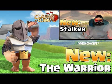 NEW TROOP - Stalker or Warrior? Clash of Clans Update Ideas - YOU Decide!