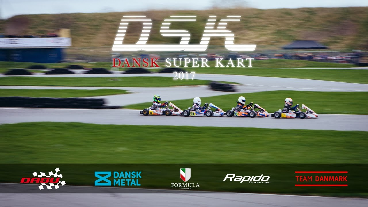 Dsk Dansk Super Kart Promo Video 2017 Youtube